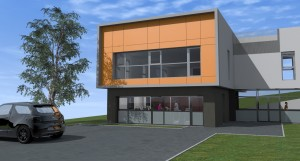 Hôpital de jour Baudin - Construction d'une salle d'activités